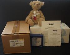 "2009 Steiff 11"" Kringle Christmas Bear ~ Swarovski Crystal - EAN 681646 NIB EXC"