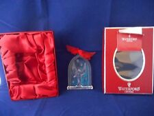 Waterford Nativity Crystal 2007 Angel Ornament Gloria with Box