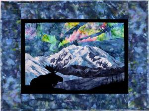 Wildfire Designs Alaska Aurora Nights At the Park Applique Quilt Pattern