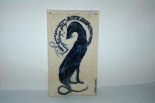 Iris Milward Original Poetry Tile Greyhound Dog