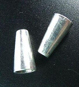20pcs Tibetan Silver Smooth Cone Cord End R803