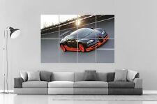 Bugatti Veyron Super Sport  Wall Poster Grand format A0 Large Print