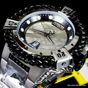 Invicta Reserve Hercules Meteorite Automatic 56mm Stainless Steel Watch New