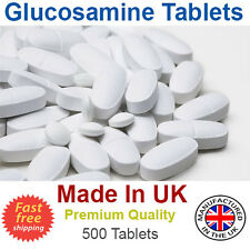 Glucosamine, Chondroitin,MSM,Vitamin C,Joints and Bones Care 500 Tablets UK Made