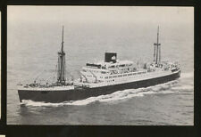 MS Bossevain / Ruys / Tegelberg Postcard - Royal Interocean Lines RIL