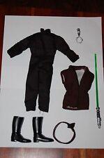 """Luke Skywalker Jedi 12"""" Outfit-Hasbro-Star Wars 1/6 Custom Side Show"""