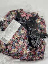 """Daisy Kingdom-Doll Floral Swing Dress w/ Vest & Purse Dress Fits 17-19"""" Dolls-"""