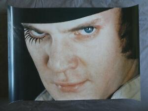 "A CLOCKWORK ORANGE (1971) - 1990s PYRAMID licensed poster 34"" x 24"" Kubrick EXC"