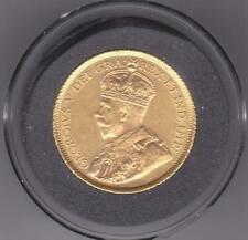 1913 CANADA GOLD 5$ GEORGE V COIN
