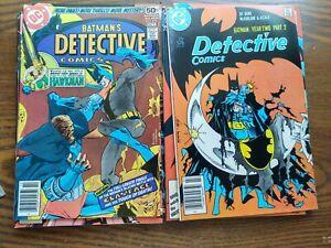 10 Batman/detective comics nm