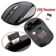 2.4GHz Mouse Wireless Ratón óptico Inalámbrico USB Receptor2.0 MAC Win7/XP/Vista