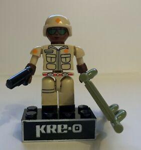 KRE-O G.I. Joe Doc 100% Complete (NO ID Card)