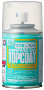 Mr. Hobby Premium Top Coat Flat Spray - 88ml