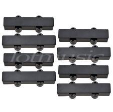 5 sets Black Sealed Bass Pickup Covers Neck/Bridge for 4 String Jazz J Bass