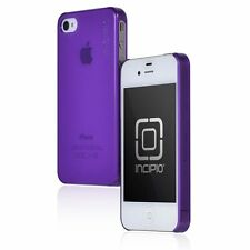 Incipio Feather Case For iPhone 4/4S - Translucent Purple Slim Cover NEW