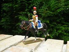 STARLUX NAPOLEON 1er EMPIRE Plomb: Cavalier au trot CARABINIER 2eme Régiment