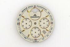 JAEGER LECOULTRE Odysseus Moon Phase Chronograph NOS Watch Dial 27.5 mm (ZB279)