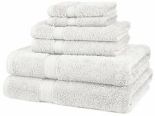 Luxury Hotel Home Spa Bath Cotton 6 Piece Washcloths Towel Set Cotton