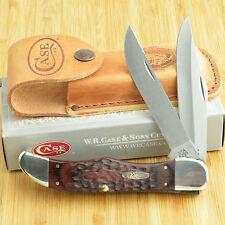 Case XX 2 Blade Folding Hunter Staminawood Handle Knife 00189 6265 SS
