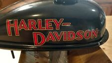 Old  School Harley Davidson Tank Decals