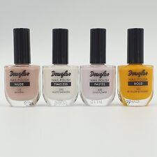 4 x Douglas Nagellack - Mineral, White Sneakers, Lilas Flower 4 x 10 ml
