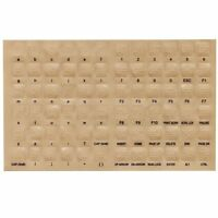 Braille Transparent  Keyboard Stickers for the Blind