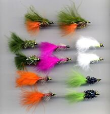 Trout Flies: Lead Heads x 12 all size 10 (code 096a)