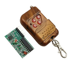 IC 2262/2272 4 CH Key Wireless Security 315MHZ Receiver module+Remote ControlSC