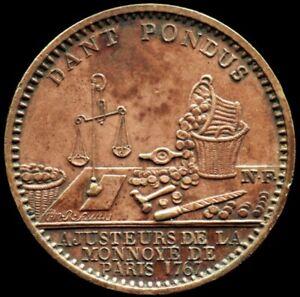 Médaille AJUSTEUR DE LA MONNOYE / ADMINISTRATION DES MONNAIES - FRANCE - jeton
