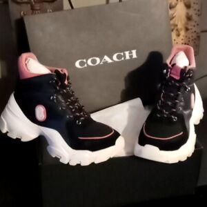 Coach High Top Sneaker Hiker C265 Size 7.5 B  NEW!