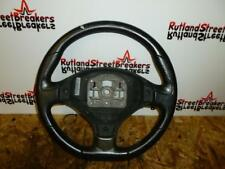PEUGEOT 308 CC / BLACK LEATHER STEERING WHEEL (AIRBAG NOT INCLUDED)