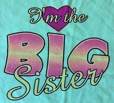 Big Sister Kids Toddler HEAT PRESS TRANSFER for T Shirt Sweatshirt Fabric #400h