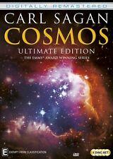 CARL SAGAN'S COSMOS Ultimate Edition (Reg Free) DVD Remastered A Personal Voyage