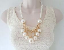 Mixed Metals Plastic Chain Costume Necklaces & Pendants
