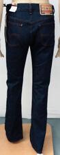 Diesel Indigo, Dark Wash Straight Leg L34 Jeans for Women