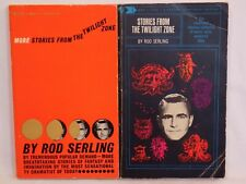 Rod Serling Stories from The Twilight Zone 1960 & More Stories 1961 Sf Paperback
