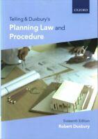 Telling & Duxbury's Planning Law and Procedure by Robert Duxbury 97801988104