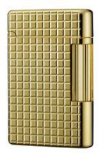 Tsubota Pearl Premium #180 Gold Square <> Cut Flint Lighter Seki, Japan DuPont~☦