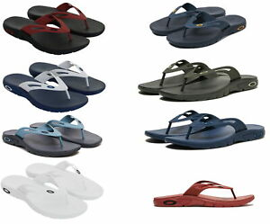 Oakley NEW 2020 Mens Ellipse Flip Flop Comfort Durable Sandals Pick Color & Size