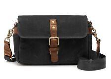 Black ONA 'Bowery' Vintage Style Camera Bag Good Used Condition