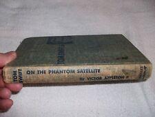 TOM SWIFT  On The Phantom Satellite  1956 Hard Cover with Illustrations  L@@K