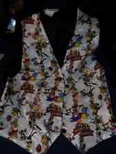 LOONEY TUNES  Easter (?) Vest Tweety,Marvin Martian,Daffy, Sylvester-OSFA