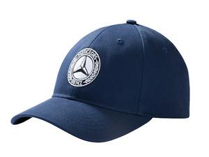 Cap Mütze Herren Classic Mercedes-Benz navy blau NEU größenverstellbar B66041540