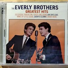 2CD NEW - THE EVERLY BROTHERS - GREATEST HITS - Country Pop Music 2x CD Album