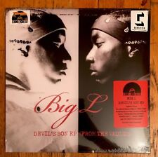 BIG L - Devil's Son EP (From The Vaults) New Vinyl RSD 2017 Unreleased Demo DITC