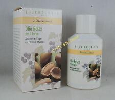 ERBOLARIO Bioecocosmesi OLIO RELAX corpo 125ml massaggio dopo bagno doccia oil