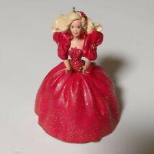 Hallmark Keepsake Holiday Barbie Collector's Ornament 1993 - 1st in Series Euc