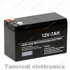Batteria 12v 7Ah per Sistemi di Allarme o Gruppo di continuità UPS BIGBAT
