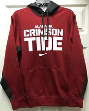 Alabama Crimson Tide Mens Nike Therma Fit Red Hoodie Sweatshirt size Small S