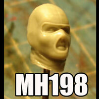 "MH198 Custom Cast head use w/3.75"" Star Wars GI Joe Acid Rain action figures"
